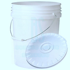 20L HEAVY DUTY CAR WASH BUCKET PLASTIC FISHING TUBS CONTAINERS HYDROPONICS