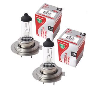 Headlight Bulbs Globes H7 x 2 for Daewoo Lacetti J200 Sedan 1.8 CDX 2003-2004