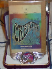 Cream Clapton Baker Bruce Rock Band Wing Live Concert Jacket Badge Pin Stub Love