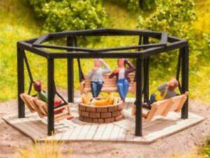 Noch 14369 HO/OO Gauge Barbecue Place with Swings Laser Cut Minis Kit