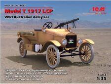 ICM 35663 MODEL T 1917 LCP, Australian Army Car 1/35 scale plastic model kit WWI