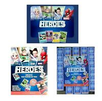 Sainsburys Disney Heroes Cards & Album Marvel Pixar Disney Trading Cards - New