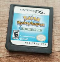 Pokemon Mystery Dungeon: Explorers of Time Nintendo DS 2008 Authentic