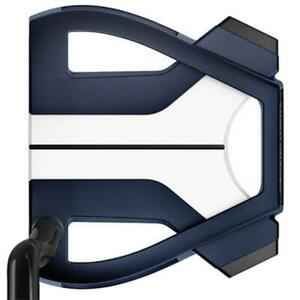 """TaylorMade Spider X Putter Navy/White 35"""" Single Bend"""