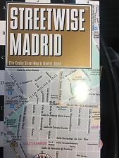 NEW! Streetwise Madrid Map - Laminated City Center Street Map of Madrid, Spain