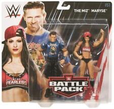 WWE Mattel Battle Packs 51 The Miz & Maryse Wrestling Figures