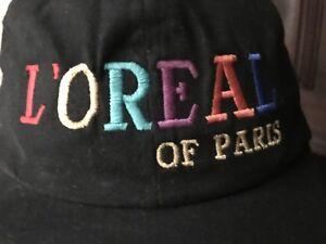 L'OREAL Of Paris Embroidered Cap Sun Hat Tennis Visor