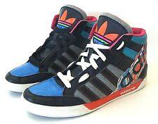 Adidas NEO Originals skater COLOR BLOCK High Top Sneakers SPELLOUT 11.5 US 11 UK
