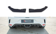 REAR SIDE SPLITTERS FOR RENAULT MEGANE MK4 RS (2018-2020)