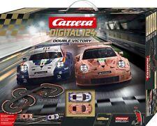 Carrerabahn, Carrera Digital 124 Double Victory, 23628 Racetrack NEU OVP