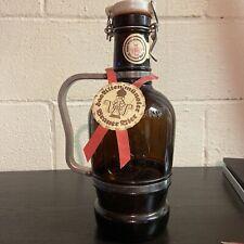 Vintage German Das Ulten Munster Brauer Bier Beer Growler Stein Mug Germany