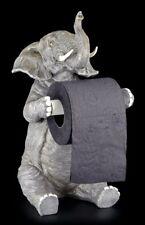 Portarrollos - Sentado elefante - Figura FUNNY FUNNY Decoración de baño Wc Baño
