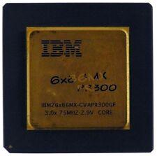 Vintage CPU IBM6x86MX PR300 goldcap [6957]