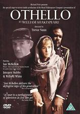OTHELLO DVD Ian McKellen Imogen Stubbs Trevor Nunn UK Release New Sealed R2