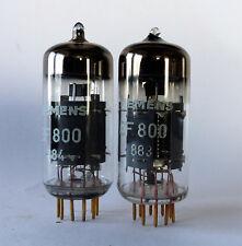 Paar SIEMENS EF800, Goldpins,  ZF-Röhre für Rohde & Schwarz ESB Ballempfänger