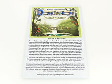 Dominion Hinterlands Replacement Original Game Rules Instruction Booklet