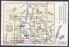 Finnland Block 1 postfrisch FINLANDIA'88 - Postbeförderung im 17. Jahrhundert