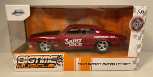 2021 Jada Toys Big Time Muscle 1970 Chevy Chevelle SS Saint Nick  1:32