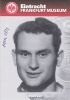 Egon LOY - Fussball, dt. Meister 1958/59, Eintracht Frankfurt Museum, Original!
