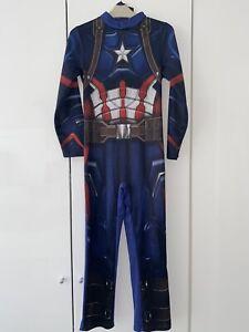 Captain America Avengers Boys Costume Size 5