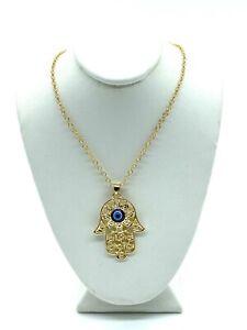 Hamsa Jewelry Hamsa Bracelet Turkish Hamsa Charm 10 Pcs 8x12mm 24k Matt Gold Hamsa Charms MTE3 VF Hamsa Pendant Gold Plated Charms