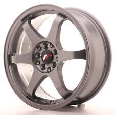 Japan Racing JR3 Alloy Wheel 17x7 - 4x100 / 4x114.3 - ET40 - Gun Metal