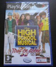 JEU Sony PLAYSTATION 2 PS2 : Disney HIGH SCHOOL MUSICAL (envoi suivi NEUF)