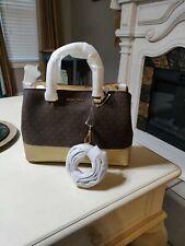 micheal kors handbag Brown & Gold
