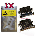 3 X New Type-C Micro USB  Charging Sync Port Charger For ZTE ZPAD K90U 10.1 USA