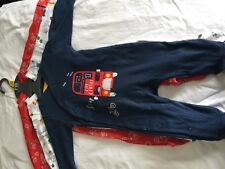 Mothercare Baby Boys Babygrows 3 Pack - 3-6 Months BNWT