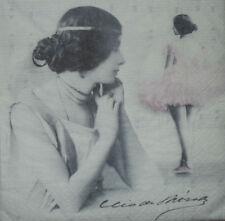 4 x singolo di carta Tovaglioli Decoupage CRAFT TAVOLA FESTA-Vintage -19 persone