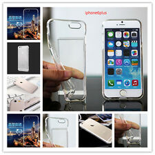 Clear Transparent New Crystal Soft TPU Silicone Gel Cover Case for iPhone 6 Plus