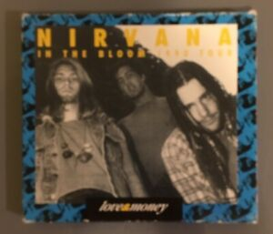 """Nirvana """"IN THE BLOOM 1990 """" Rare Blue Issue Import Cd"""