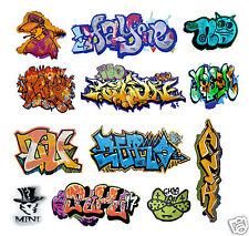 O Scale Custom Graffiti Decals #2 - Weather Your Box Cars, Gondolas & Hoppers!