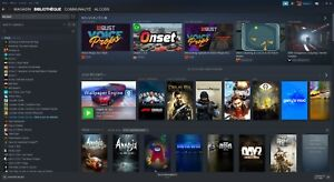 Steam account with 99 games | Compte steam avec 99 jeux