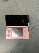 NINTENDO 3DS CONSOLE CORAL PINK -  FREE POSTAGE
