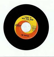 "THE BEATLES ""I WANT TO HOLD YOUR HAND - I SAW HER STANDING THERE"" ORIGINAL 45"