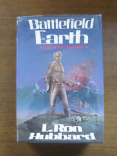 BATTLEFIELD EARTH by L. Ron Hubbard  -1st/1st 1982 HCDJ -    sci-fi    (1-10)