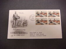 First Day of Issue,FDC,1964 Charles M. Russell,100th Ann.,Great Falls,Mont,5c