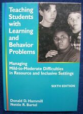 Teaching Students with Learning and Behavior Problems 6th Ed. HB Textbook