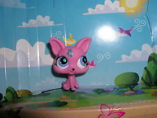 Littlest pet shop New Music note hot pink chihuahua dog #2867  blind bag