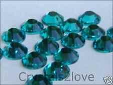 12ss BLUE ZIRCON HOTFIX Swarovski Rhinestones 1 gross