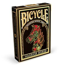 WARRIOR HORSE Bicycle deck playing cards Chinese new year 2014 LTD gift gold