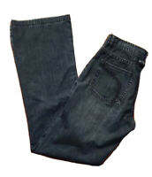 "2 Kenneth Cole New York Boot Cut Jeans Buckle Embellishment 33"" Inseam Women's"