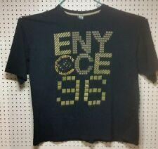 Enyce Sean Combs Co. Shirt 5X Cotton Black Graphic Tee Short Big