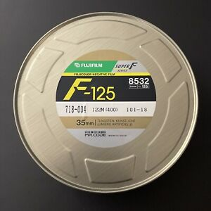 Fuji FujiFilm F-125 Tungsten 400ft (122m) Negative Film (SEALED)