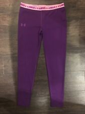 Under Armour UA Youth HeatGear Fitted Leggings L / XL NWT