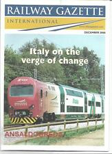 Railway Gazette International magazine- December2000 DH