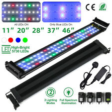 "Full Spectrum Bright SMD5730 LED Aquarium Lighting For 30-55"" Fish Tank Lamp"