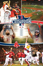 Boston Red Sox WORLD SERIES CELEBRATION 2013 Commemorative MLB Wall POSTER